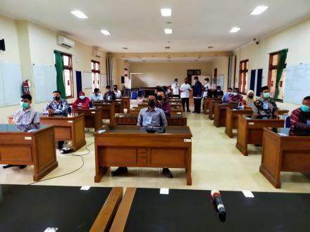 Hasil Ujian Pemilihan Pamong Dukuh Kalurahan Srigading Tahun 2021